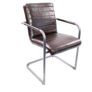 Stuhl aus Büffelleder